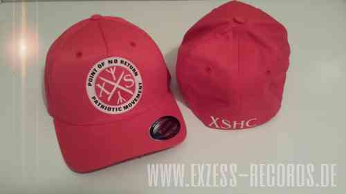 Cap Flexfit XSHC patriotic movement in rot