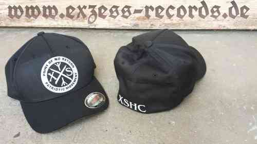 Cap Flexfit XSHC patriotic movement in schwarz